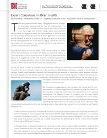 Umeåforskare i internationell expertgrupp: Optimistisk syn på hjärnan och åldrandet