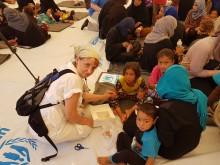 Udsendt til flygtningelejr nær Mosul