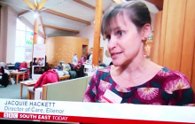 ellenor visited by BBC South East