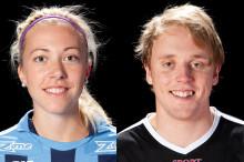 Årets spelare 2012/13: Emelie Lindström & Johan Samuelsson