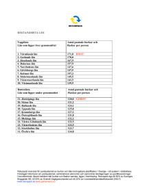 Pantstatistik från Returpack - bästa och sämsta länen