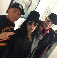 Leila K klar för Denniz Pop Awards konsert på Berns