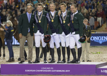 Irish overcome the odds to win Jumping team gold