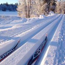 Längdpremiär i Vålådalen 15 oktober - på förra vinterns snö!