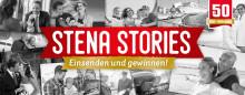 Zum 50-jährigen Routenjubiläum: Kunden erzählen Stena Stories