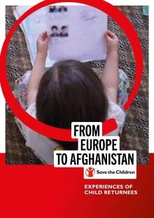 Ny rapport från Rädda Barnen: Stora risker för barn och unga som återvänder till Afghanistan