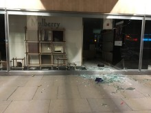 Appeal following smash and grab raid at Victoria department store