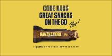 Great snacks on the go - Barebells lanserar Banana Caramel Core Bar
