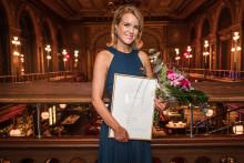 Grundaren av Equestrian Stockholm tog hem utmärkelsen Årets Unga Entreprenör 2018