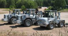 Rekordorder till Swecon på hjullastare och grävmaskiner