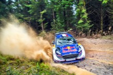 M-Sport steht in Wales kurz vor dem Gewinn beider Rallye-WM-Titel für den Fiesta WRC