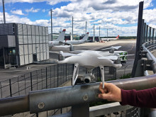 The use of drones creates hazardous situations in aviation