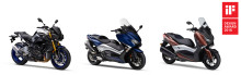 "Yamaha Motor Receives Global ""iF Design Award"" for Fifth Consecutive Year — Models Awarded: MT-10 SP, TMAX530 DX, XMAX 300 —"