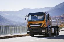 Nya Stralis X-WAY: Den helt nya lastbilsserien för urbana tjänster och bygglogistik som kombinerar Trakkerns legendariska chassiram och terrängegenskaper med klassens bästa nyttolast, ultimata prestanda och hög bränsleeffektivitet