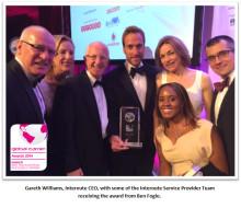 Interoute vinnare av Capacity Global Awards 2014