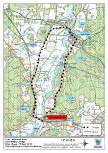 U14E Ordiequish Road closure