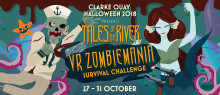 Creatures from the Singapore River to invade Clarke Quay this Halloween, inaugural Apocalyptic Zombie Virtual Reality shoot-out expected.