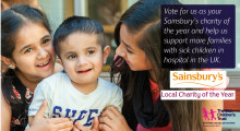 Vote for us at your Sainsbury's Local as their Charity of the Year!