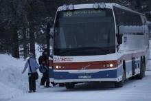 Premiär för världens första vinterstyrdäck för turistbussar: Continental HSW 2 COACH