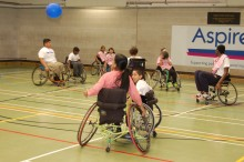 Disability sports day for children in North London