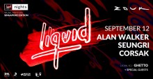 LIQUID NIGHTS SINGAPORE TO TAKE PLACE AT ZOUK ON SEPTEMBER 12