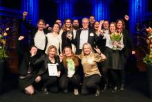 Förbo vann pris för sin service