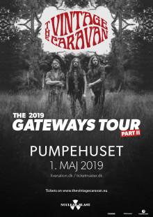 Det islandske alternative/ classic rockband The Vintage Caravan kommer til Pumpehuset