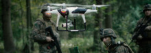 MyDefence Demonstrates Drone Swarm Counter UAS Jammer