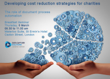 Data Capture Solutions is hosting a breakfast seminar for the Charity Sector