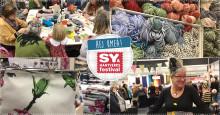 Sy & Hantverksfestival i större format i Umeå 5–7 oktober!