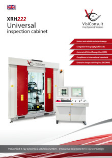 XRH222 - Universal X-ray inspection cabinet