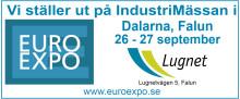 Besök oss på Euroexpo i Falun!