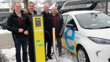 Neue Stromtankstelle in Markt Arnstorf