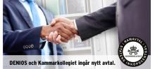 DENIOS AB och Kammarkollegiet ingår nytt ramavtal.