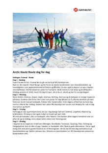 Arctic Haute Route dag til dag