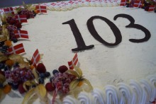 103 år - stort tillykke til Gunnar!