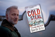 """Nordic Noir crime writer Quentin Bates interviewed by CloseUp PR for new Icelandic murder mystery novel """"Cold Steal"""""""