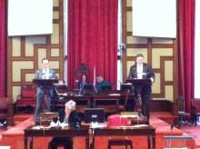 Per Ankersjö (C): Följ oss på twitter om du vill du veta mer om vad som sägs i budgetdebatten