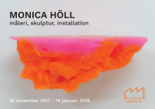 Vernissagekort - Monica Höll på Kulturcentrum 2017