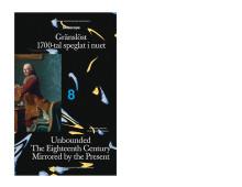 Boksläpp för Skiascope 8 - Gränslöst. 1700-tal speglat i nuet