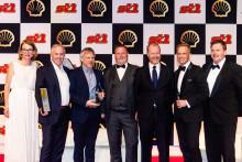 Orkla Foods går av med seieren som årets leverandør for tredje år på rad under Shell Awards