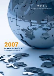 BTS Group AB Årsredovsining 2007