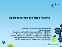 Sparbankgruppens historia