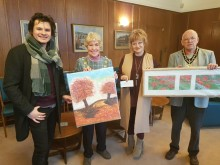 Artistic boost for mayor's charities