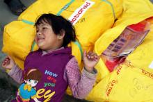 Åhléns kunder stöttar de jordbävningsdrabbade i Nepal