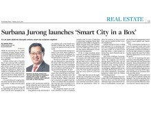 Surbana Jurong launches 'Smart City in a Box'