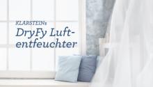 Die DryFy Luftentfeuchter – Vielseitige Trocknungsexperten