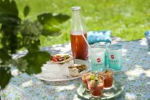 Picknick med tomat & melon gazpacho