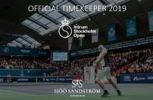 Sjöö Sandström - Official Timekeeper Intrum Sthlm Open 2019