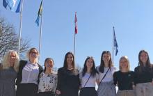 Lärarstudenter från Kanada gör praktik i Nacka